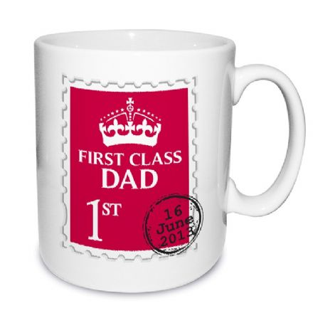 Personalised Mug - First Class